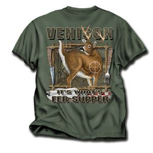 Venison Hunting T Shirt