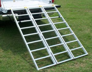 Tri-Fold Lite ATV Loading Ramps