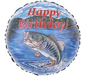 Fish Birthday Balloon