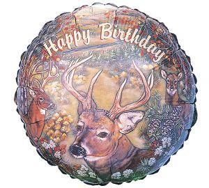 Deer Birthday Balloon