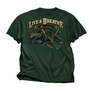 Live & Breathe Hunting T Shirt