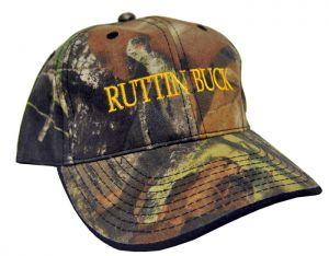 Camo Hats - Ruttin' Buck Yellow