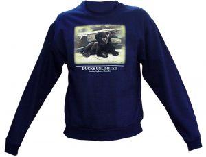 Kid's Ducks Unlimited Sweatshirt - Lab