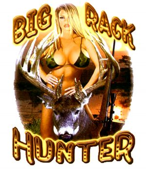 Big Rack Hunter T Shirt