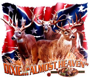 Dixie...Almost Heaven Hunting T Shirt