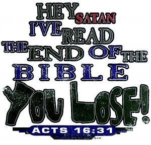 Hey Satan, You Lose! T Shirt