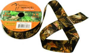 Grosgrain Fabric Camo Ribbon
