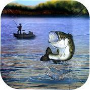 Gone Fishin' Paper Plates - Small
