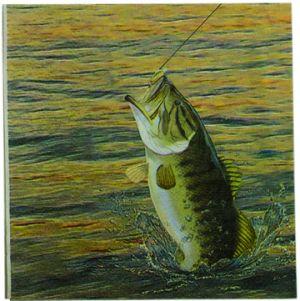 Gone Fishin' Napkins - Small 2