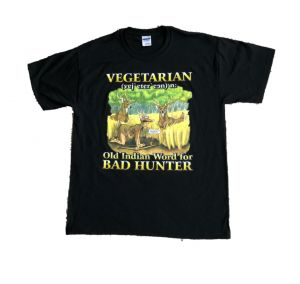 Vegetarian - Indian Word for Bad Hunter