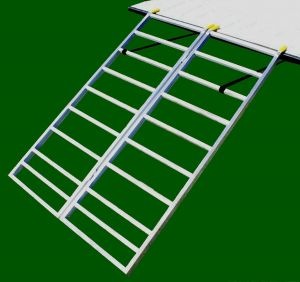 The Bi-Fold Lite ATV Loading Ramps