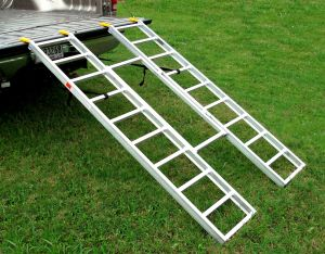 Trifold ATV Loading Ramps