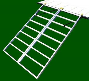 Bi-Fold Wide ATV Loading Ramps