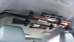 Overhead Gun Rack For Two Guns