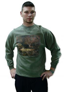 Ducks Unlimited Deer Sweatshirt