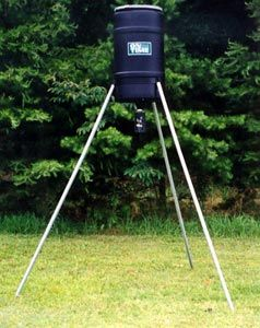 225 lb. Capacity Tripod Deer Feeder w/ Lifetime Timer