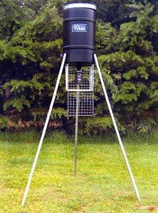 225 lb Capacity Tripod Deer Feeder w/ Elite Digital Timer
