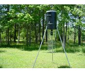 225 lb Capacity Tripod Deer Feedder w/ Tomahawk Digital Timer