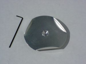 Galvanized Spin Plate