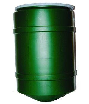 32 Gallon Conical Poly Barrel