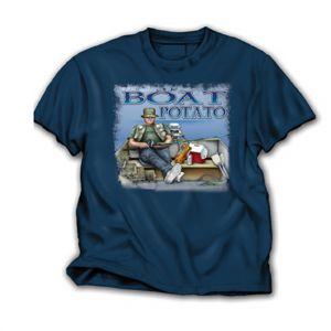 Boat Potato T Shirt