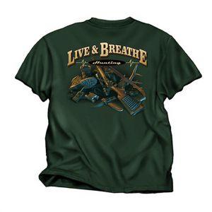 Live & Breathe Hunting T Shirt