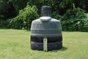 800 Pound Capsule Feeder