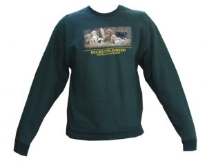 Kid's Ducks Unlimited Sweatshirt - Lab Puppies