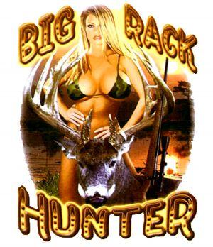 Big Rack Hunter T Shirt