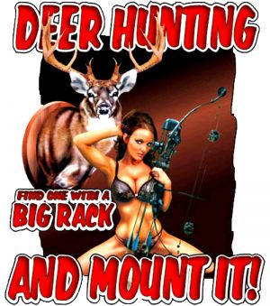 Deer Hunting Big Rack and Mount It T Shirt