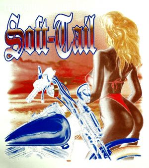 Softtail Biker T Shirt