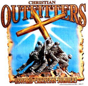 Onward Christian Soldier T Shirt