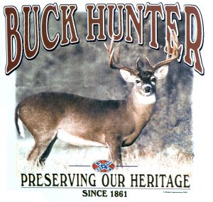 Buck Hunter Preserving Our Heritage T Shirt
