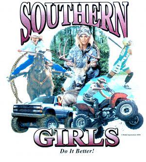 Southern Girls Do it Better T Shirt