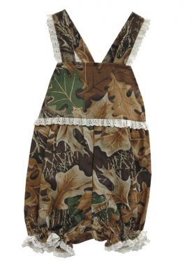 Girls Camo Bubble Suit