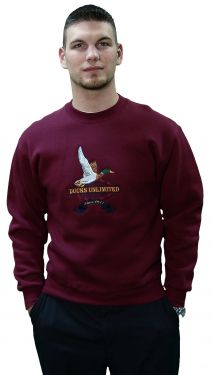 Ducks Unlimited Sweatshirt - Maroon