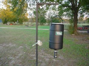 225 lb Hanging Feed Pole Kit w/ Lifetime Timer