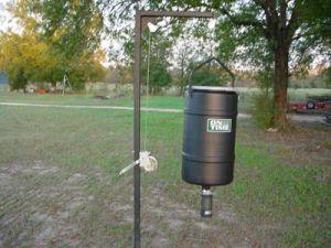 225 lb Hanging Feed Pole Kit w/ Elite Timer