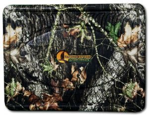 Camo Rubber Floor Mats - Mossy Oak Breakup - Back Set