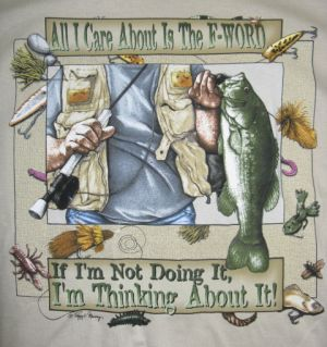 The F-Word Fishing T Shirt 2