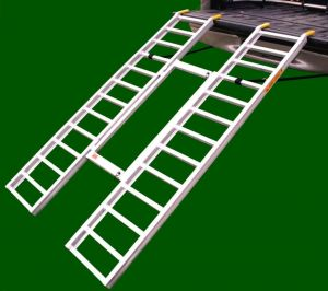 Tri-Fold Adjustable Lite ATV Loading Ramps