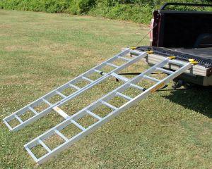 Tri-Fold Adjustable HD ATV Loading Ramps