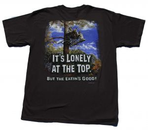 Lonely At The Top T-Shirt Rear