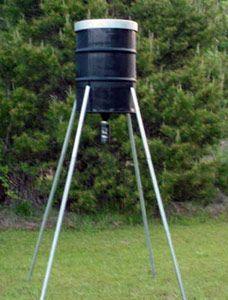 350 lb Quadpod w/ Tomahawk Ultra Hunt Timer