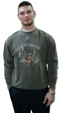 North River Deer Sweatshirt