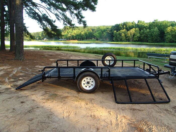 Atv Trailers Atv Trailers With Side Ramp Watch Video
